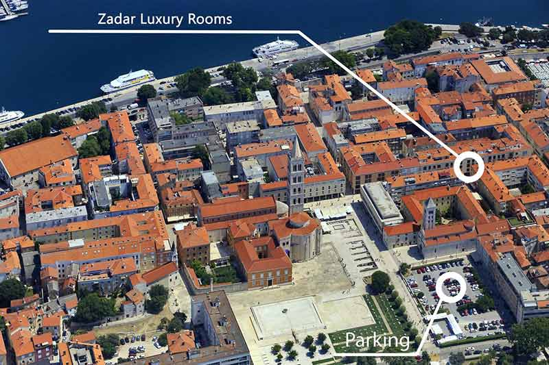 Aparcar en Zadar
