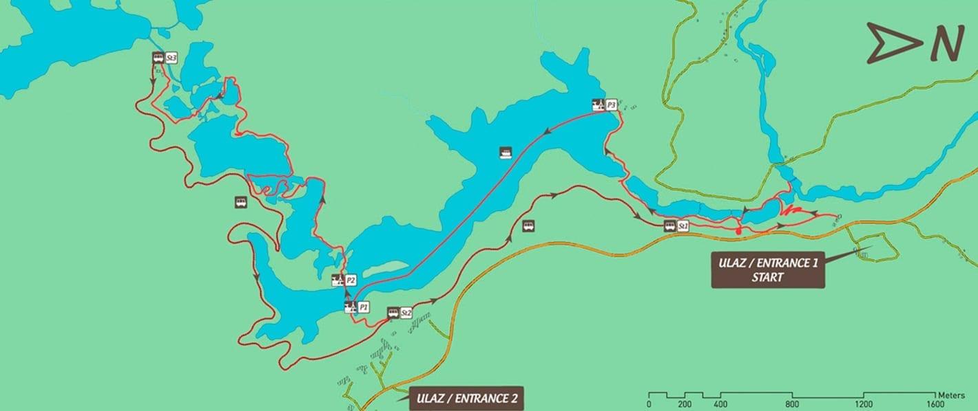 Ruta C Plitvice