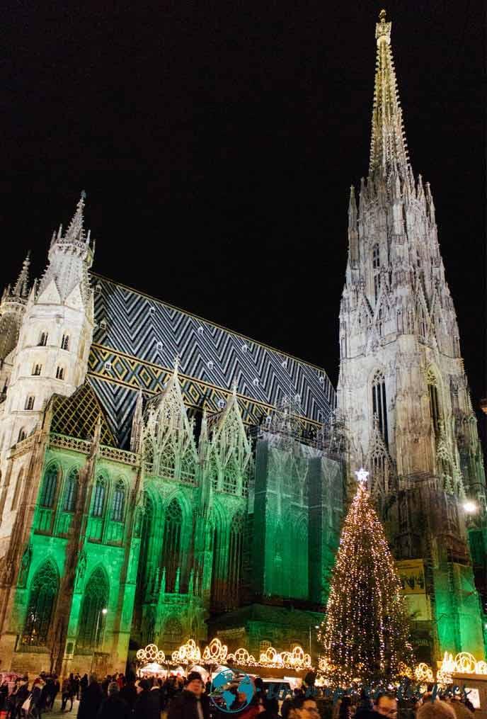 Catedral-de-Viena-en-Navidad