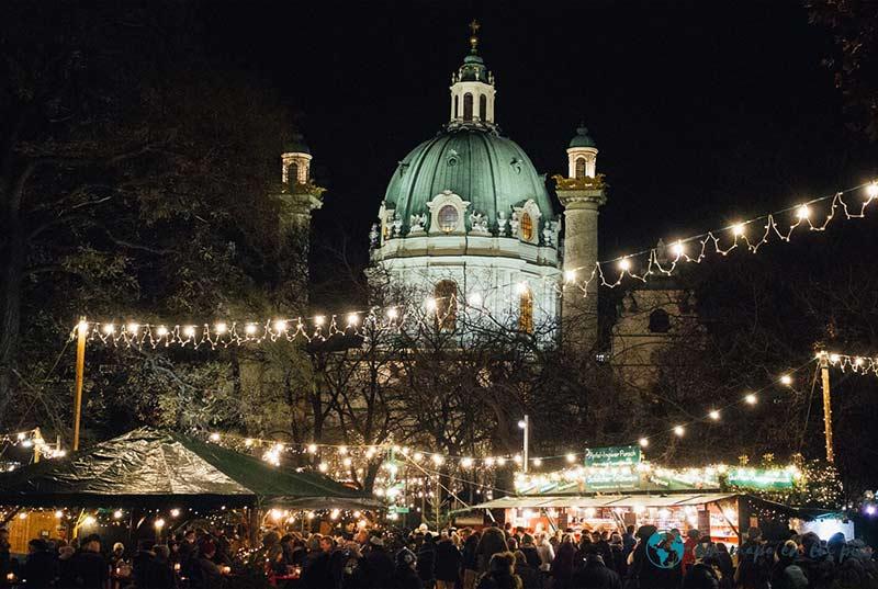 Mercadillo de Navidad de Karlsplatz