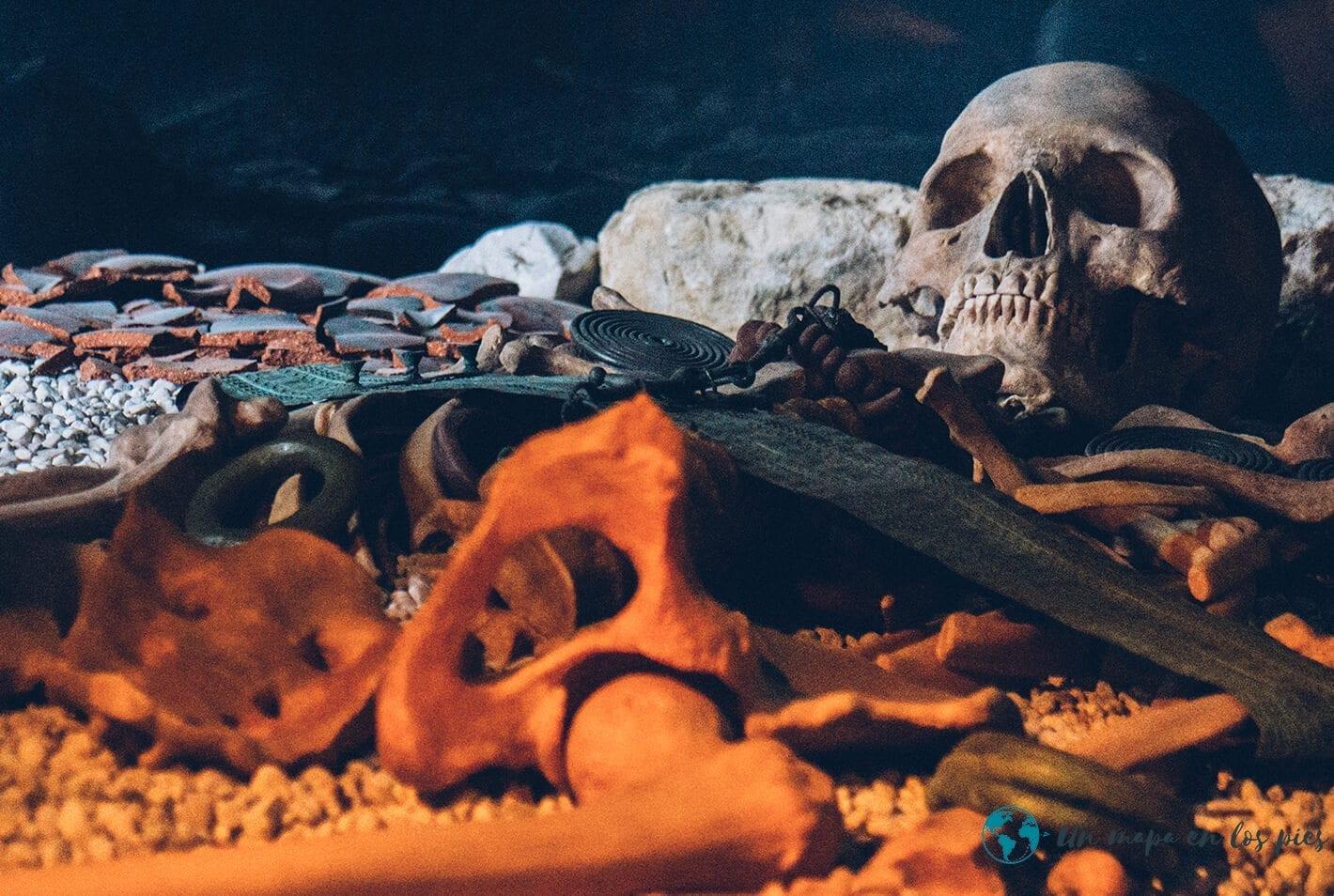 esqueleto mina hallstatt