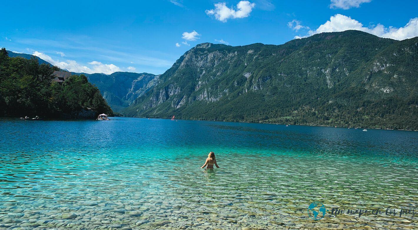Bañarse-Lago-Bohinj